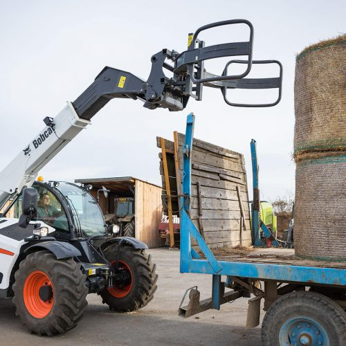 Bale Handler With Tubes
