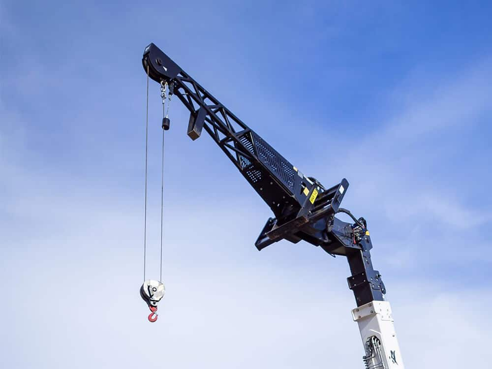 Jib Extension with Winch